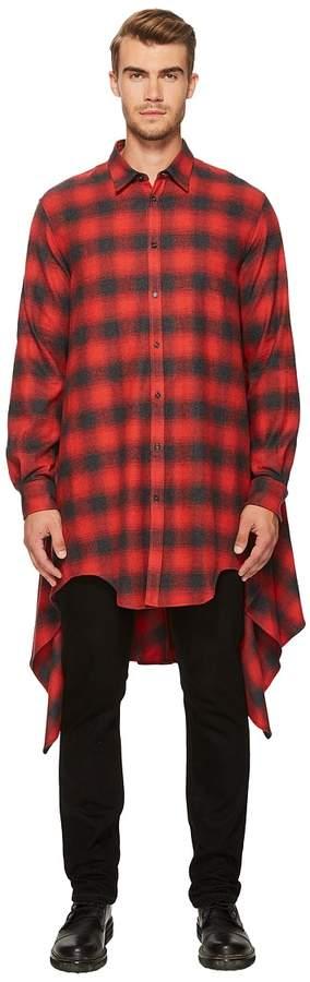 DSQUARED2 Grunge Blanquet Shirt Men's Clothing