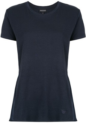 Emporio Armani Flared Knitted Top