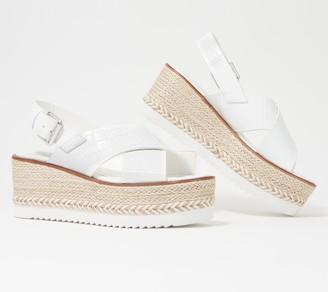 Vince Camuto Leather Espadrille Sandals - Marietten