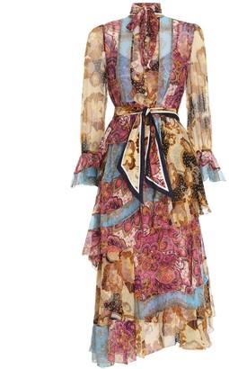 Zimmermann Fiesta Flounce Long Dress
