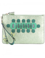 Anya Hindmarch LARGE ZIP TOP CLUTCH