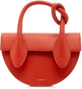 Yuzefi Dolores Mini Knotted Leather Top Handle Bag