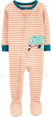 Carter's Toddler Boy Cotton Footed Pajamas