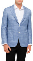 Canali Textured Slub Jacket