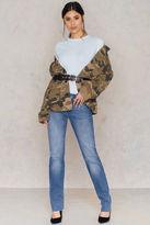 Calvin Klein Mid Rise Straight Jeans