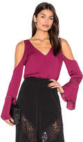 Majorelle Natalia Top in Wine. - size S (also in XL,XS)
