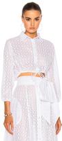 Lisa Marie Fernandez Bubble Top in White.