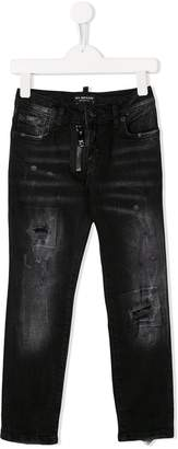 My Brand Kids mid rise distressed jeans