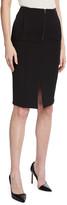 Emporio Armani Stretch Knit High-Waist Pencil Skirt