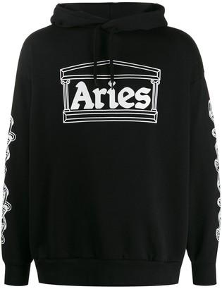 Aries 'Aries' print hoodie