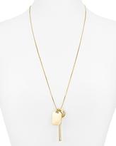Aqua Megan Charm Pendant Necklace, 28 - 100% Exclusive