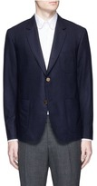 Thom Browne Whale embroidered cashmere blazer