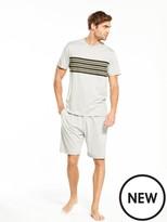 Very S/s Colour Block Short Grindle Loungewear Set