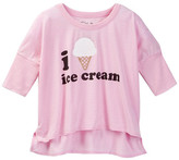 Chaser Ice Cream 3/4 Sleeve Boxy Pullover (Big Girls)