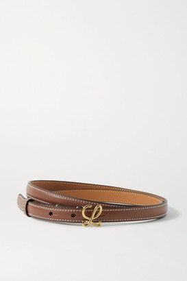 Loewe Leather Belt - Tan