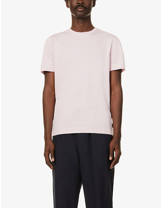 Ted Baker Striped cotton-jersey T-shirt