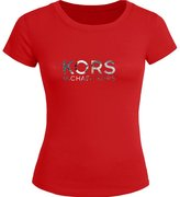 MICHAEL Michael Kors Michael Kors For Womens Printed Short Sleeve tops t shirts