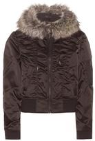 Yeezy Faux Fur-trimmed Jacket (season 1)