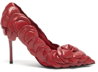 Valentino Atelier 03 Rose Edition Leather Pumps - Red