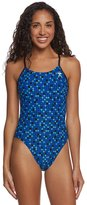 TYR Team Check Cutoutfit Tie Back One Piece Swimsuit 8164839