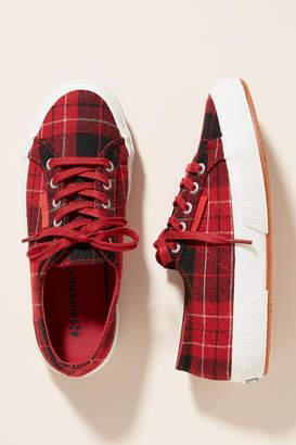 Superga Plaid Sneakers