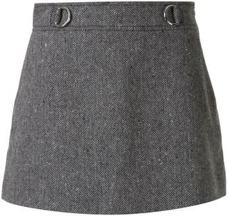 we11done Herringbone Skirt