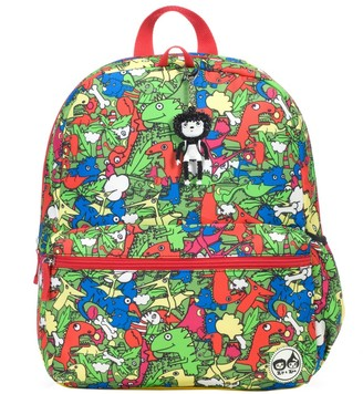 "Babymel Zip & Zoe Junior 15"" Kid' Backpack - Dino Multi"