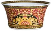 Versace Medusa Red Porcelain Salad Bowl