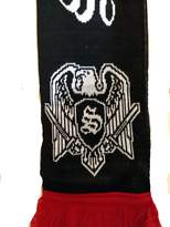 Black White Scarf Red - ShopStyle Canada