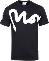 Money Big Sig Black Crew Neck T-shirt