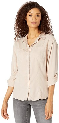 Prana Alda Top (Dovetail) Women's Clothing