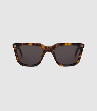 Reiss Robotnik - Monokel Eyewear D-frame Sunglasses in Tortoise
