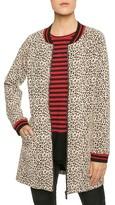 Sanctuary Women's Leopard Print Knit City Coat