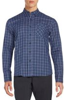 Billy Reid Walland Standard-Fit Plaid Cotton Sportshirt