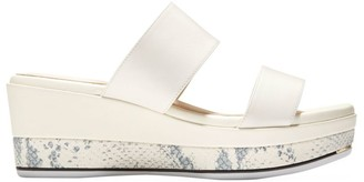 Cole Haan Grand Ambition Leather Wedge Mules