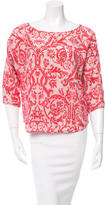 DAY Birger et Mikkelsen Printed Crew Neck Top