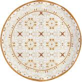 Q Squared 16 Talavera Serving Platter, Natural