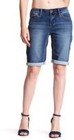 "Seven7 11\"" Rolled Bermuda Shorts"