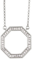 Louise et Cie Open Octagon Pendant Necklace