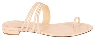 Alexandre Birman Strappy Leather Toe-Loop Sandals