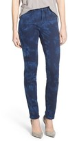NYDJ Women's 'Alina' Tie Dye Stretch Skinny Jeans