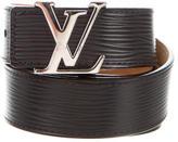 Louis Vuitton Epi Initiales 30MM Belt