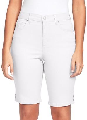Gloria Vanderbilt Petite Amanda Bermuda Jean Shorts
