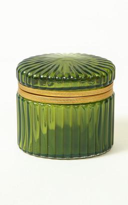Mario Buatta for Moda Domus 19Th Century English Green Glass Box