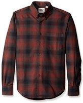 Naked & Famous Denim Men's Regular Fit Shadow Check Shirt