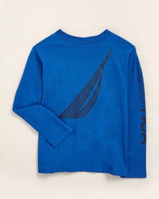 Nautica Boys 4-7) Blue Jason Long Sleeve Tee