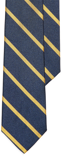 Thumbnail for your product : Ralph Lauren Striped Silk Repp Tie