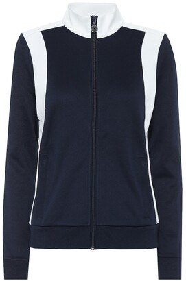 Tory Sport Colorblocked track jacket