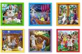 Melissa & Doug New Testament Bible Stories Wooden Cube Puzzle - 6 Puzzles in 1 (16pc)