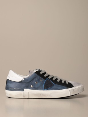 Philippe Model Sneakers Paris Sneakers In Leather And Suede